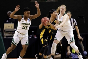 Grambling's Hill 1st women's player with 2 quadruple-doubles