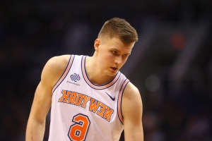 Report: 'Shocked' teams did not know Porzingis was available