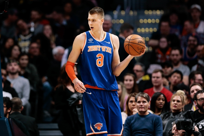 4e7f7528a453 Sport  Next to greatness  How Porzingis benefits from trade to ...