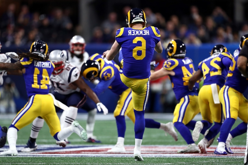 Rams set two Super Bowl records … for punting