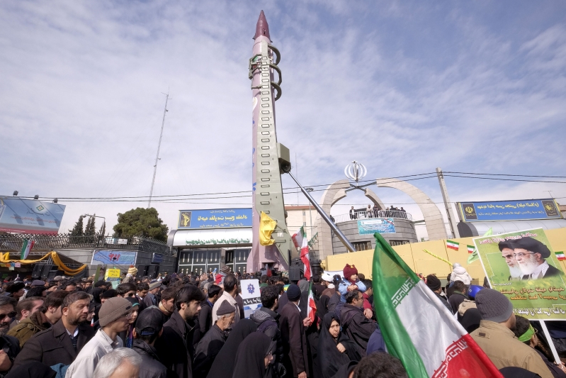 Iran dismisses EU concern about missile tests as 'non-constructive'