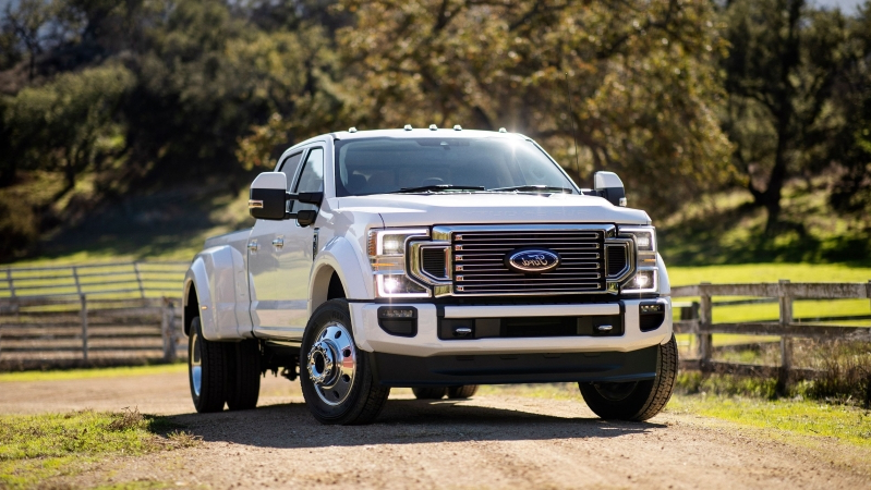 News 2020 Ford Super Duty Will Get A Massive Gas Powered 7 3l V8