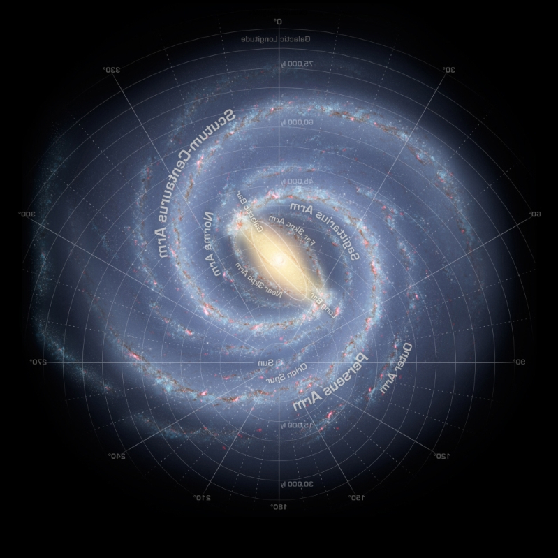 New 3D map of the Milky Way shows we live in a warped galaxy