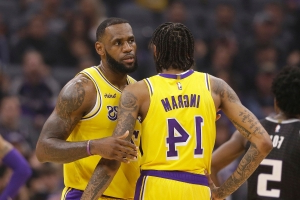 Pacers fans chant 'LeBron's gonna trade you' at Lakers' Brandon Ingram