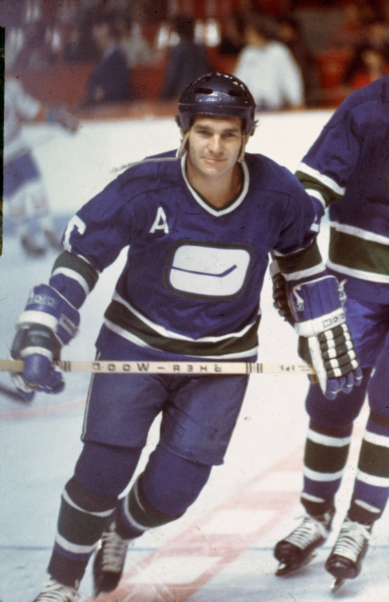 Sport Andre Boudrias Former Vancouver Canucks Captain Dies At 75