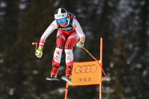 Crash-victim Vonn again skips downhill training