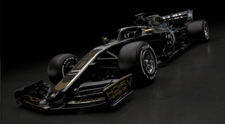 sport haas kickstarts f1 2019 launches with unveiling of all new livery pressfrom united. Black Bedroom Furniture Sets. Home Design Ideas
