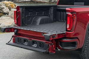 Is Ram bringing a trick tailgate to the Chicago Auto Show?