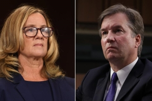 Virginia lt. gov. retains Kavanaugh's lawyers. His accuser hires Christine Blasey Ford's.