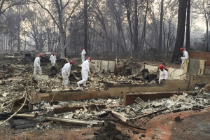 Official death toll from California wildfire drops to 85