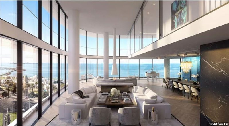 Money seven bedroom luxury apartment with a car garage gym