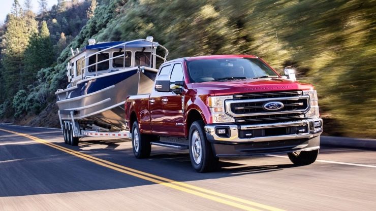 2020 Ford F-Series Super Duty Engines and Transmission: 11 Power(train) Points