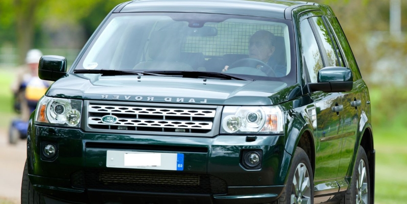 97-Year-Old Prince Philip Gives Up Driver's License a Month after Flipping His Land Rover Freelander