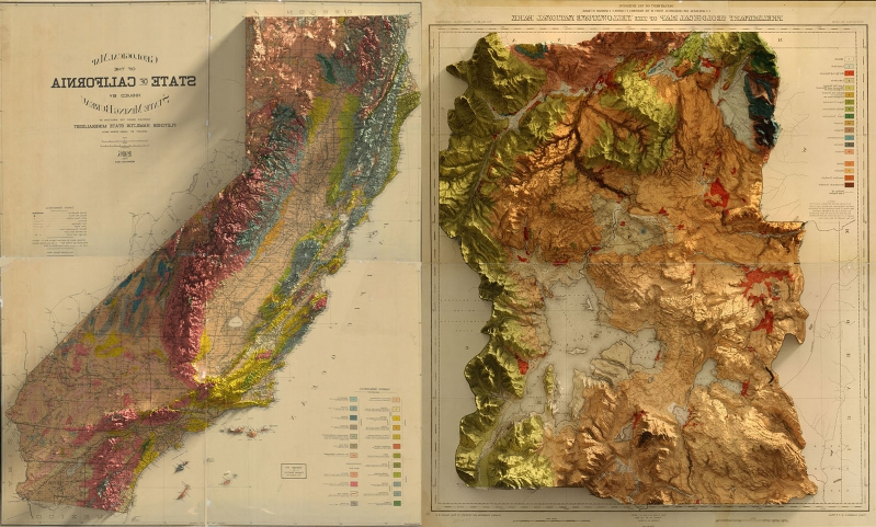 Tech & Science : Bringing the wonder of old-school survey maps into ...