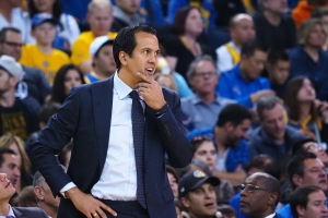 Erik Spoelstra calls out referees after loss to Warriors