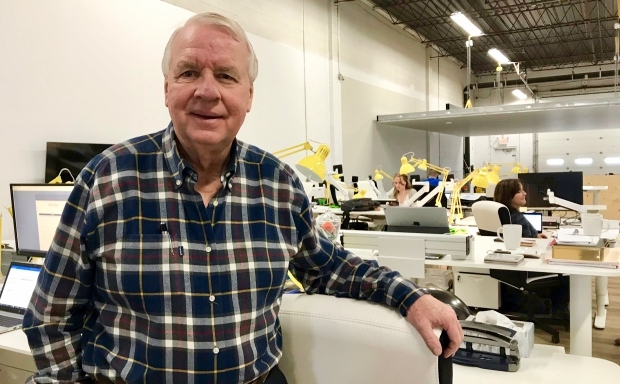 One of Calgary's best-known businessmen aims to 'do it right' once again at 71
