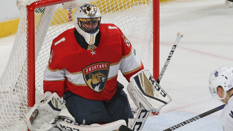 Sport Panthers Roberto Luongo Moves Into Second Place For Career