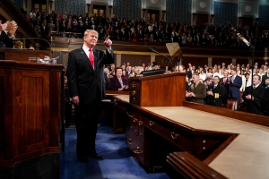 Trump's speech: Less analytical, more sure than predecessors
