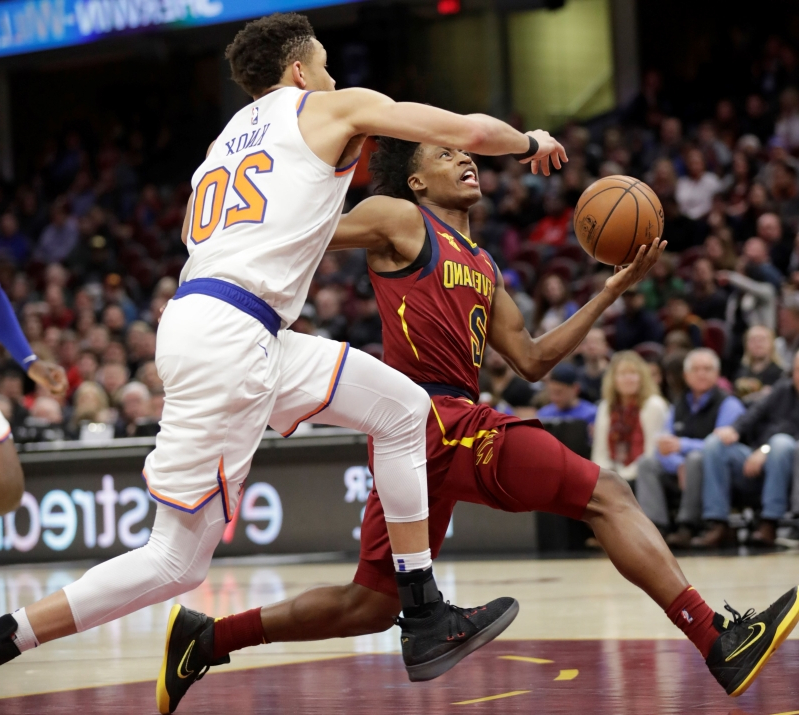 Cavs send Knicks to franchise-record 17th straight loss