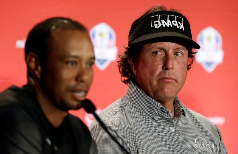 Column: Woods, Mickelson still going strong