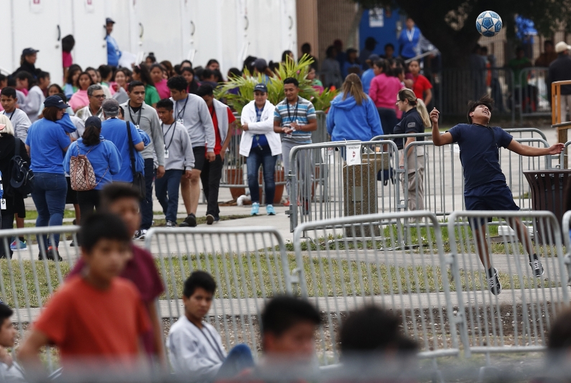 Florida Detention Center Expands, Packing In Migrant Children 'Like Sardines'