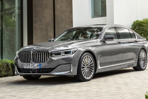 The 2020 BMW 7-series Sedan's Kidney Grille Is 40 Percent Bigger