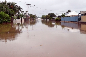 Australian river swells to 37 miles wide due to floods