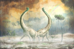 Just in time for Valentine's Day: Newly discovered dinosaur had heart-shaped tail