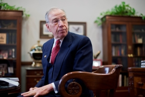 Sen. Chuck Grassley is literally praying that Donald Trump will sign the border security bill