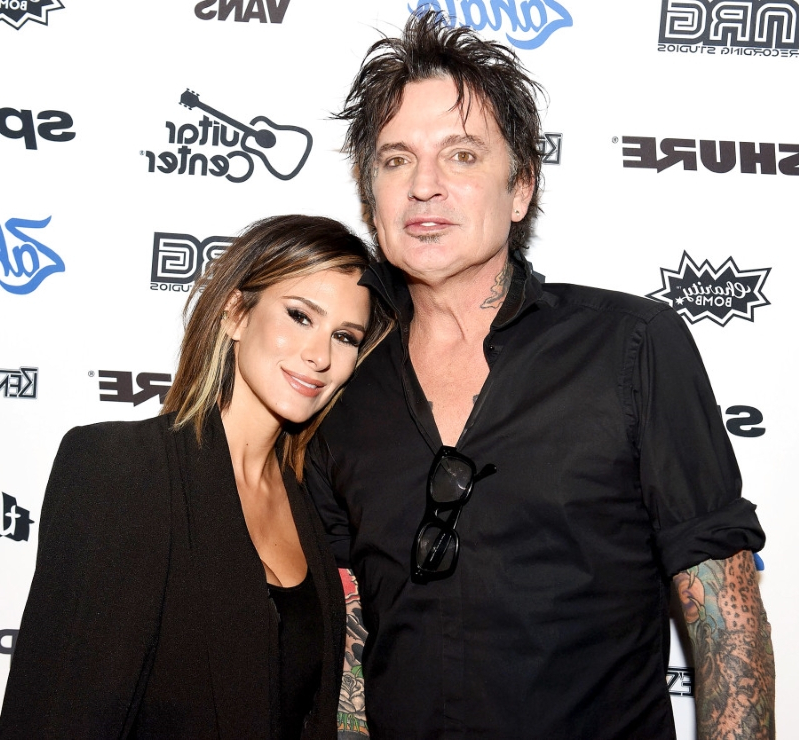 4e0dcd57b9 Entertainment  Motley Crue Drummer Tommy Lee Marries Brittany Furlan ...