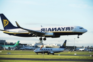 Ryanair flight from Scotland diverted to Madrid after passenger fight