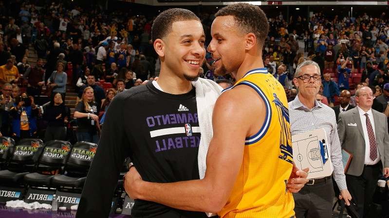 12b67a95c4b NBA All-Star 2019: Stephen Curry reveals bet against brother Seth in 3-