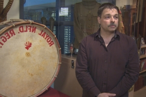This Royal Newfoundland Regiment drum is a history mystery
