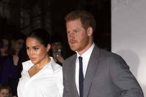 Could Meghan and Harry shun Eton for their baby? Royal insiders suggest the couple could send their child to a 'more diverse' American school just a stone's throw from the new Windsor home