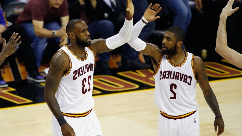 77480a7e9a9 Sport  LeBron James goes into detail about relationship with Kyrie ...