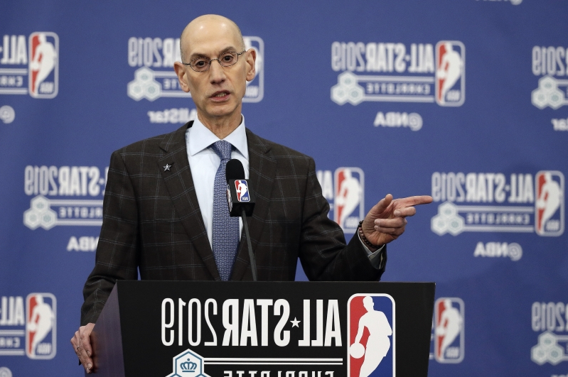56c036739eb The Latest  Silver pleased with competitive balance in NBA © The Associated  Press NBA Commissioner Adam ...