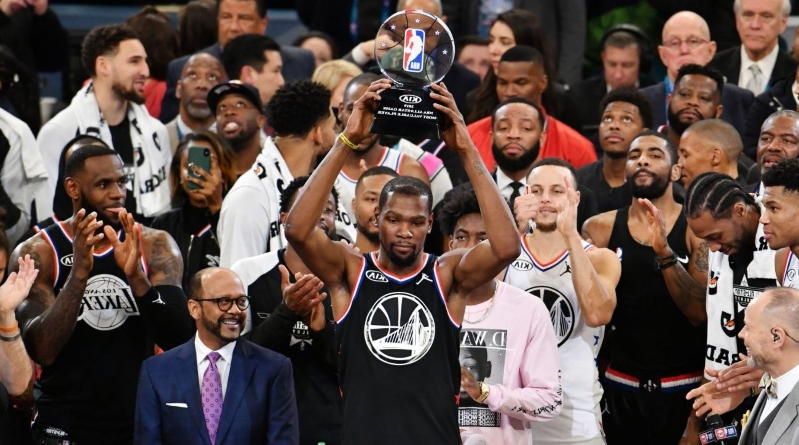 341fe8ad1fb 2019 NBA All-Star Game Takeaways  Kevin Durant Wins MVP as Draft Format  Shines