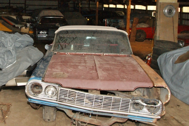 Check Out This Old Chicken Coop Full of Rare Muscle Cars!