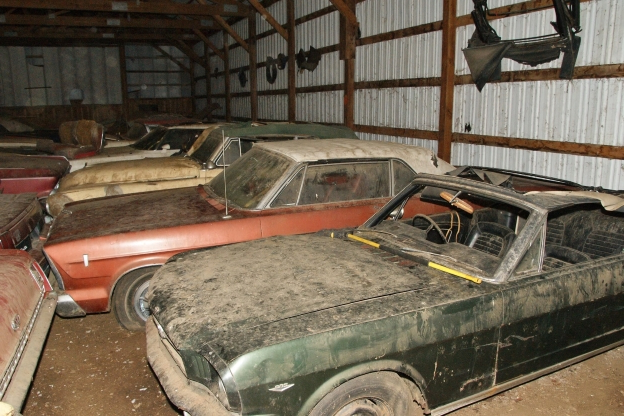 rare muscle car collection