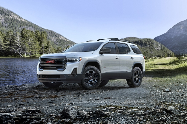 News First Look Refreshed 2020 Gmc Acadia Gets At4 Variant
