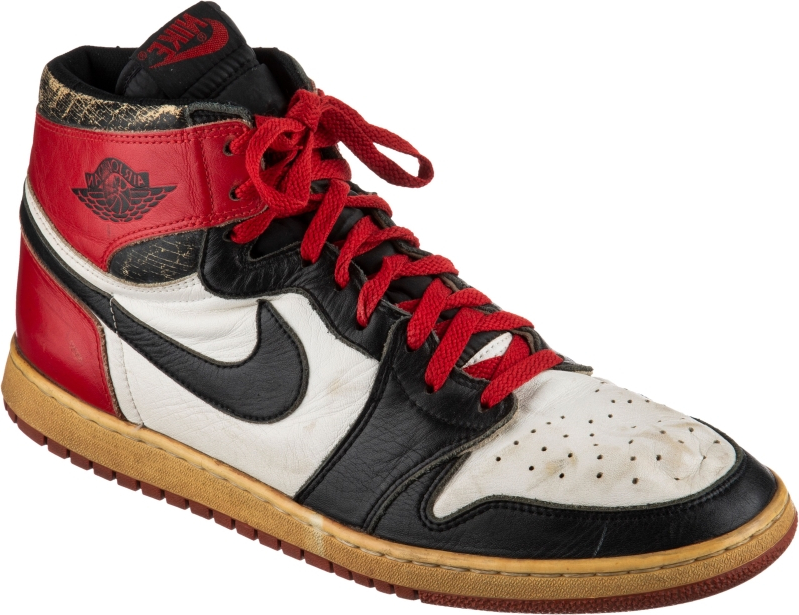 323b30e4356 Rare Michael Jordan shoe goes from Milwaukee mall demolition site to  high-priced auction