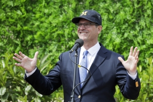Jim Harbaugh taking Michigan team to South Africa in May