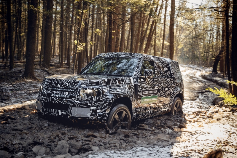 Cars: Land Rover Defender 2020: interior leaks months ahead