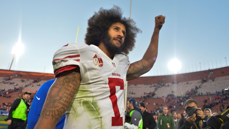 ad44a759ec2c Nike launches  Icon  Colin Kaepernick jersey days after collusion case  settles
