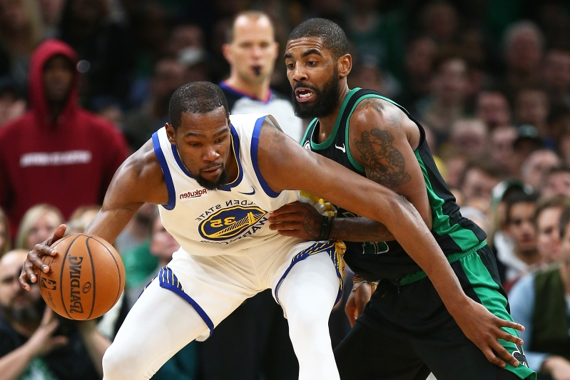 87968d682c2 Sport  Kyrie Irving is only making these Kevin Durant-Knicks rumors ...