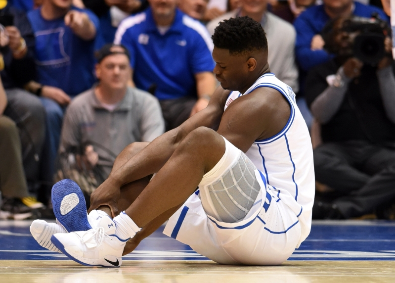 73f50f32033 Sport  Nike Stock Shares Drop Following Zion Williamson Shoe ...