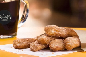 We Tried McDonald's New Donut Sticks. Then We Tried Them Dunked in Coffee.