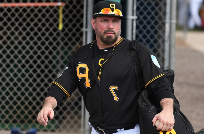 9f8f4e3c51cc05 Garth Brooks: Taking part in spring training with Pirates 'heaven for me'