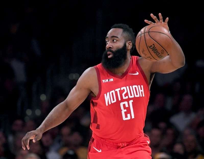 6f52b8d67569 Sport  NBA Rockets star Harden fined  25K for ripping referees ...