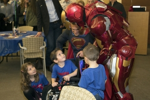 Texas community celebrates boy's 'miraculous recovery' with superhero sendoff